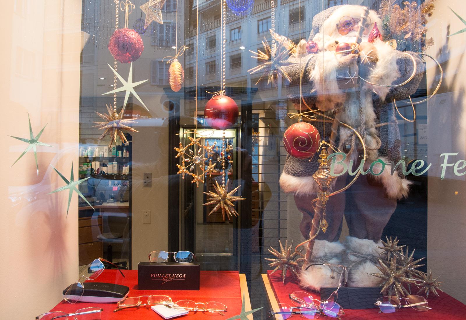 Der Weihnachtsmann in Lugano