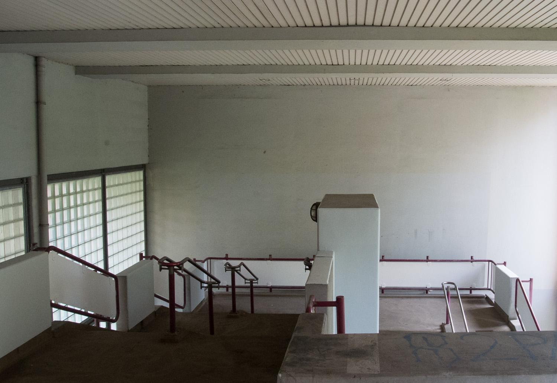 Minimalismus im Treppenhaus
