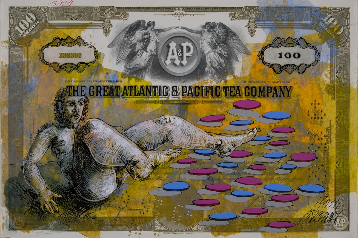 The Great Atlantic 2011 Mischtechnik auf Aktie 20,3 x 30,6 cm