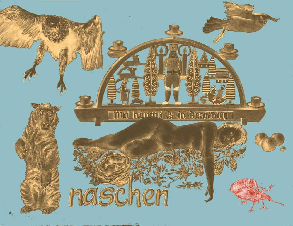 """""""naschen""""   Grafik"""